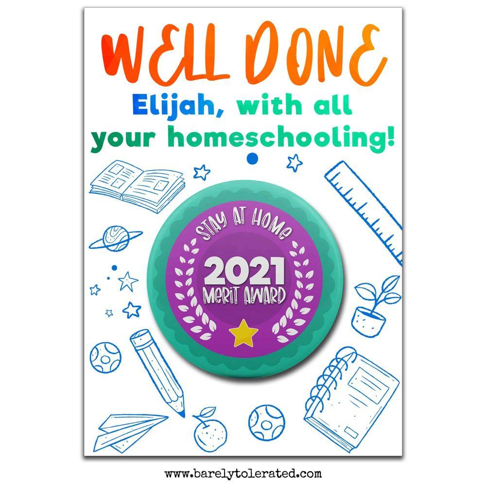 Homeschooling Merit Award