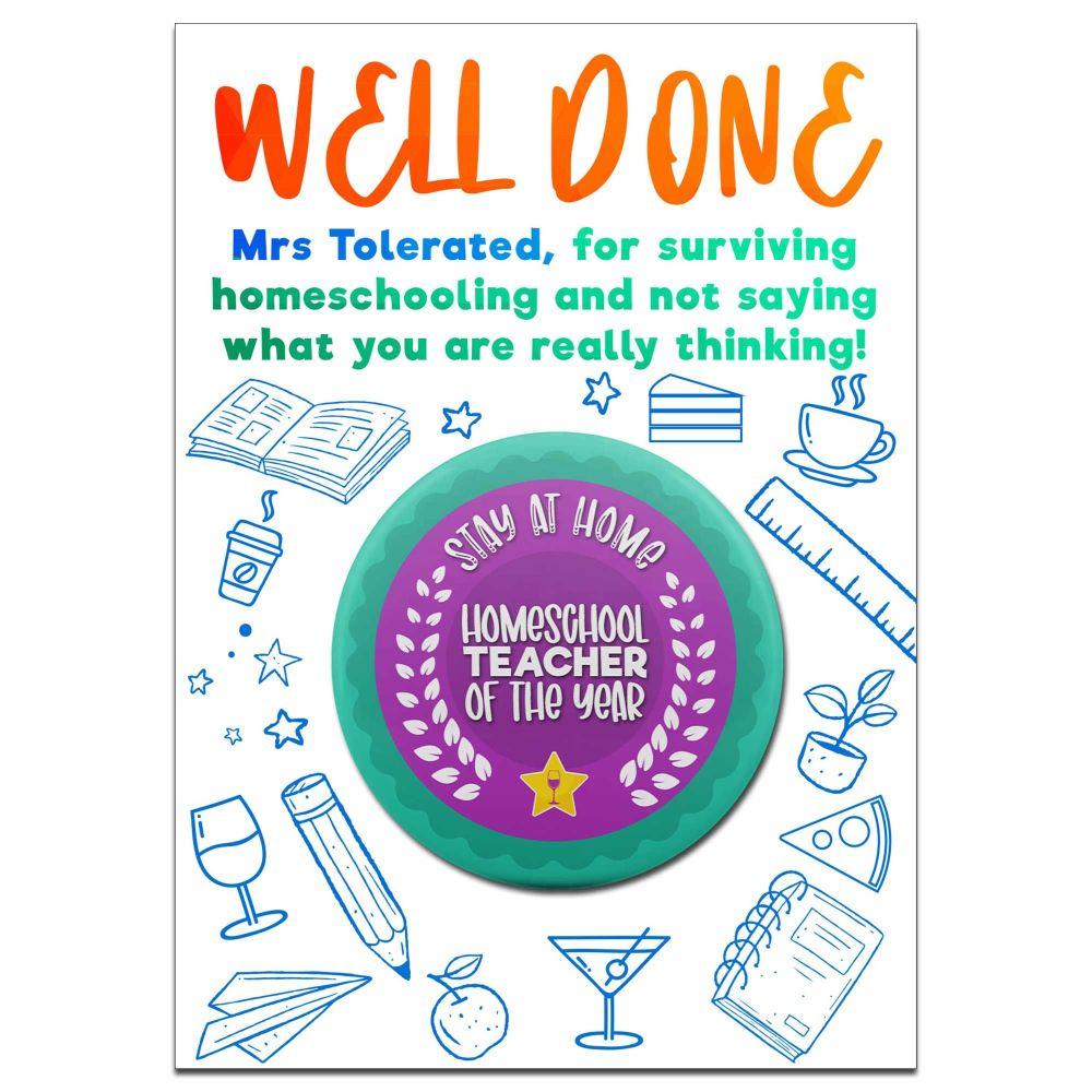 Homeschool Teacher of the Year Award
