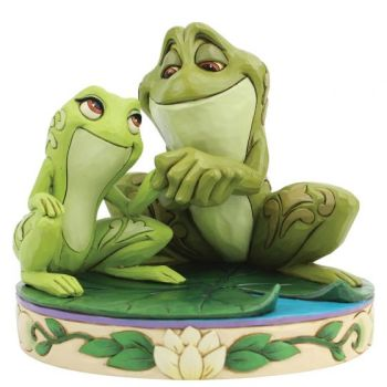 Amorous Amphibians (Tiana and Naveen as Frogs Figurine) 6005960