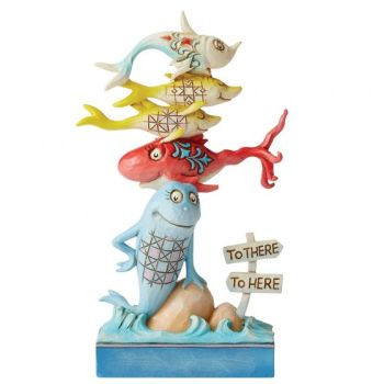 One Fish, Two Fish, Red Fish, Blue Fish Figurine 6006481