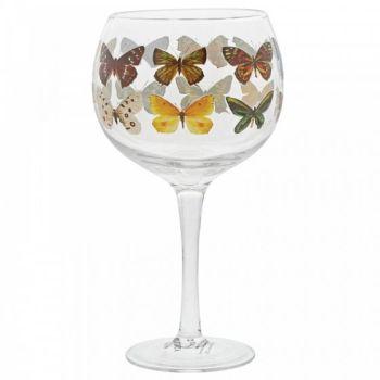 Pre-Order Butterflies Copa Gin Glass A30184
