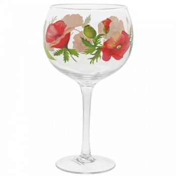 Pre-Order Poppies Copa Gin Glass A30183