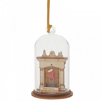 Santa Please Stop Here Hanging Ornament A30261
