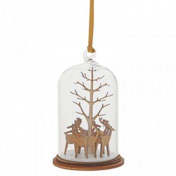 Santa's Reindeer Hanging Ornament A30269