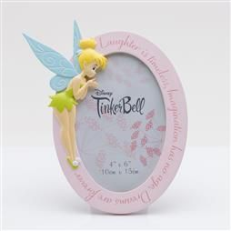 Pre-Order DISNEY TINKERBELL RESIN OVAL PHOTO FRAME PRODUCT CODE: DI787
