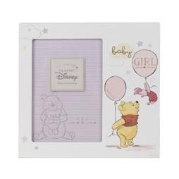 "4"" X 6"" - DISNEY MAGICAL BEGINNINGS FRAME - POOH BABY GIRL PRODUCT CODE: DI415"