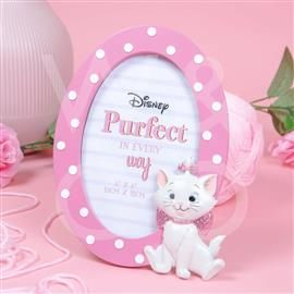 """4"""" X 6"""" - DISNEY OUI MARIE OVAL 3D MOULDED PHOTO FRAME PRODUCT CODE: DI771"""