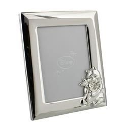 """3.5"""" X 5"""" - DISNEY WINNIE THE POOH SILVER PLATED PHOTO FRAME PRODUCT CODE: DI130"""