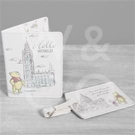 DISNEY CHRISTOPHER ROBIN PASSPORT HOLDER & LUGGAGE TAG PRODUCT CODE: DI497