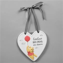 DISNEY CHRISTOPHER ROBIN HEART LITTLEST BIG DEAL PLAQUE PRODUCT CODE: DI561