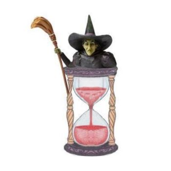 Pre-Order Wicked Witch with Hourglann (Hanging Ornament) 6008314