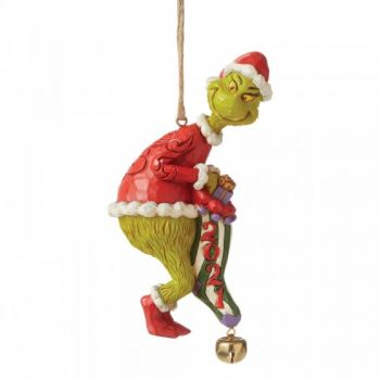 Grinch Dated Sock Hanging Ornament 2021 6008894