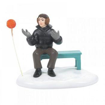 Neville and Runaway Lollipop Figurine - Harry Potter Village 6007413