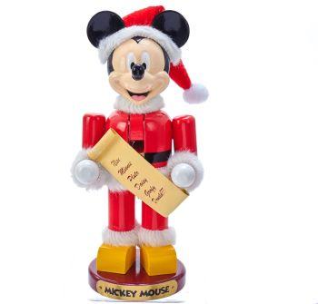 "10""SANTA MICKEY MOUSE NUTCRACKER DN6191L"