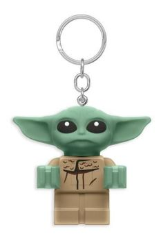 LEGO Star Wars The Mandalorian Light-Up Keychain Baby Yoda 6 cm JOY52992