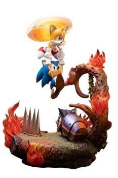 Sonic the Hedgehog Statue Sonic & Tails 51 cm F4FSNTST