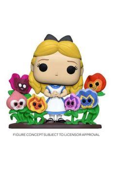 Alice in Wonderland POP! Deluxe Vinyl Figure Alice w/Flowers 20 cm  FK55733