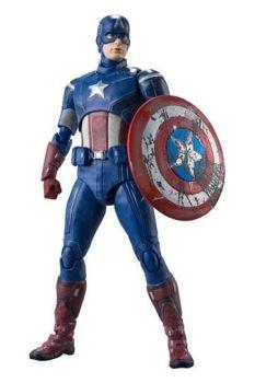 Avengers S.H. Figuarts Action Figure Captain America (Avengers Assemble Edition) 15 cm BTN61284-7