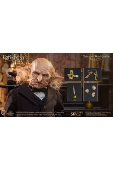 Harry Potter My Favourite Movie Action Figure 1/6 Gringotts Head Goblin 20 cm STACSA0091