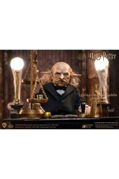 Harry Potter My Favourite Movie Action Figure 1/6 Gringotts Head Goblin Deluxe STACSA0092
