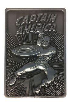 Marvel Ingot Captain America Limited Edition FNTK-K-007
