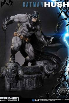 Batman Hush Statue 1/3 Batman Black Version 74 cm P1SMMDCBH-01BL