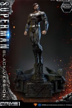 Batman Hush Statue 1/3 Superman Black Version 106 cm P1SMMDCBH-02BL