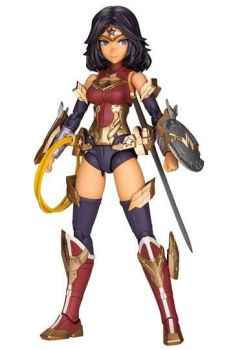 DC Comics Cross Frame Girl Plastic Model Kit Wonder Woman Fumikane Shimada Ver. 16 cm KTOCG004