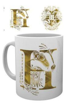 Harry Potter Mug Hufflepuff Monogram GYE-MG3117
