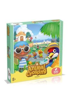 Animal Crossing New Horizons Jigsaw Puzzle Characters (500 pieces) WIMO0953