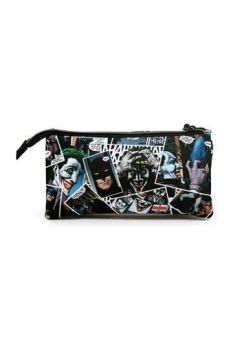 DC Comics Pencil Case Joker Comic Triple KMN00599