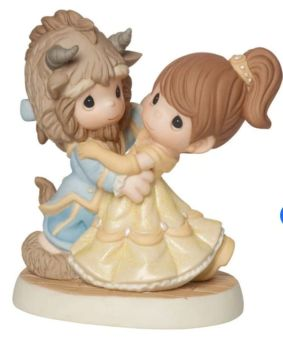 Disney Beauty And The Beast You Are My Fairy Tale Come True, Bisque Porcelain Figurine 161013