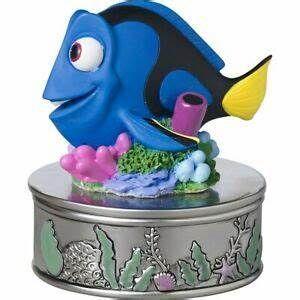 Disney and Pixar Dory Trinket Box Keep Swimming, Resin /Zinc Alloy 171705