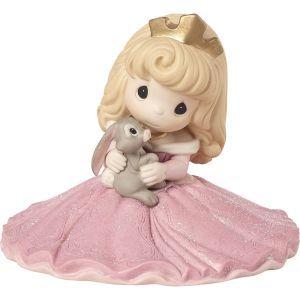 Disney Aurora Figurine, Some Bunny Special, Bisque Porcelain 183074
