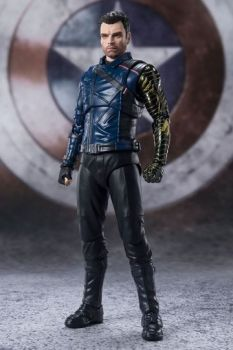 The Falcon and the Winter Soldier S.H. Figuarts Action Figure Bucky Barnes 15 cm BTN60874-1