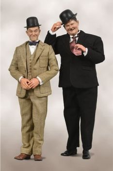 Laurel & Hardy Action Figure 2-Pack 1/6 Classic Suits Limited Edition 30-33 cm BCLH0022
