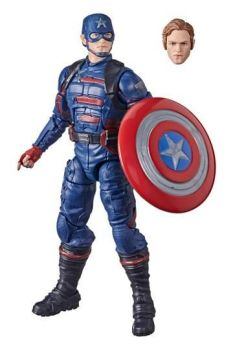 The Falcon and the Winter Soldier Marvel Legends Action Figure 2021 Captain America (John F. Walker) HASF0224