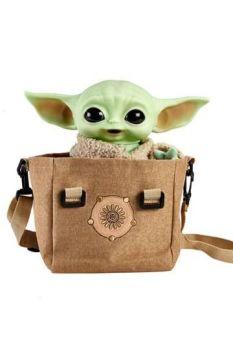 Star Wars The Mandalorian Electronic Plush Figure with Shoulder Bag The Child 28 cm MATTHBX33