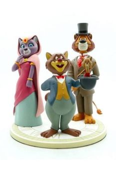 Around the World with Willy Fog Statue Willy Fog, Rigodon, Princess Romy & Tico 20 cm LMZ80J01