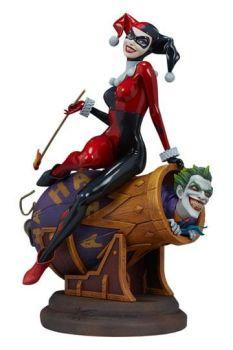 DC Comics Diorama Harley Quinn and The Joker 35 cm SS200575