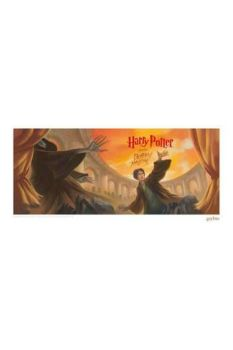 Harry Potter Art Print Deathly Hallows Book Cover Artwork Limited Edition 42 x 30 cm FNTK-THG-HP47