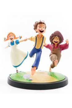 The Adventures of Tom Sawyer Animated! Statue Tom, Huck & Becky 23 cm LMZTSA01