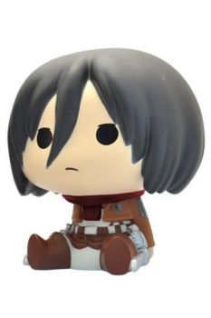 Attack on Titan Chibi Bust Bank Mikasa 16 cm P80075