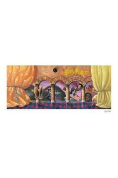 Harry Potter Art Print Philosopher's Stone Book Cover Artwork Limited Edition 42 x 30 cm FNTK-THG-HP41