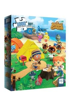 Animal Crossing New Horizons Jigsaw Puzzle Welcome to Animal Crossing (1000 pieces) USAPZ005-732