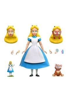 Alice in Wonderland Disney Ultimates Action Figure Alice 18 cm SUP7-DE-WLANW02-ALC-01