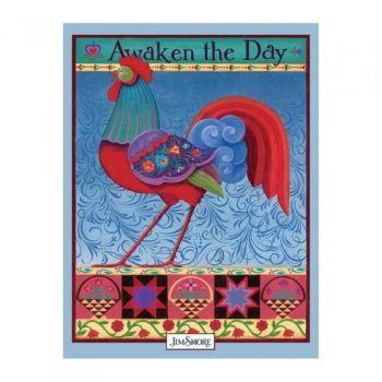 Awaken the Day Lined Journal - Jim Shore DO1145