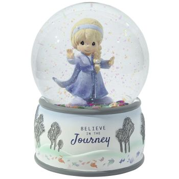 Believe In The Journey Elsa Musical Snow Globe 203162