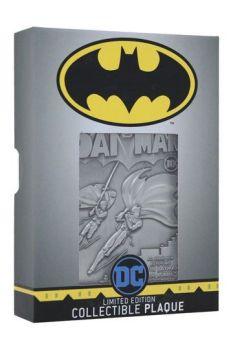DC Comics Collectible Plaque Batman Limited Edition FNTK-THG-DC01