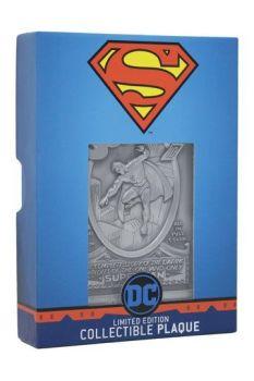 DC Comics Collectible Plaque Superman Limited Edition FNTK-THG-DC13